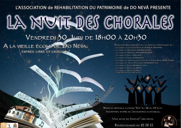 Nuit des chorales 2017